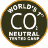 co2 neutral tented camp