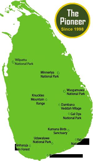 Mahoora Camps  Safari camp locations in Sri Lanka