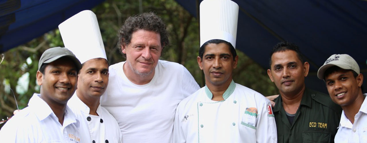 marco pierre white visit to yala national park sri lanka